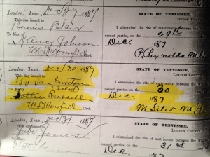 marriage record Govan Cureton 1887