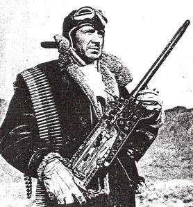 calvin davis with gun