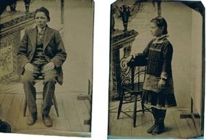 Horace B. Davis 15 yrs.  Hattie Lee 8yrs