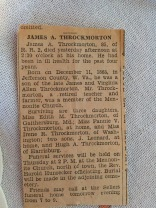 James Throckmorton obit