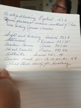 list 2 in bible throckmorton
