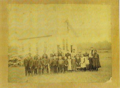 Malcolm School 1890 Manistee MI
