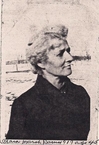 clara marsh davis 1919 age 45