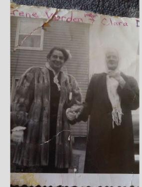 irene and clara davis 1950s