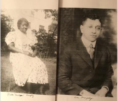 Viola Cureton and William Murphy-grandparents